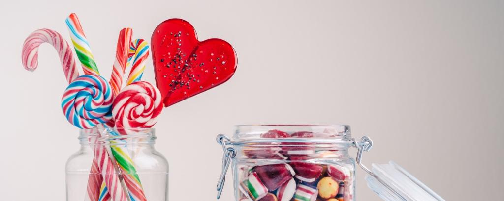 Süßigkeiten für Adventskalender